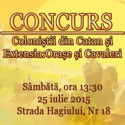 Concurs Catan Orase si Cavaleri